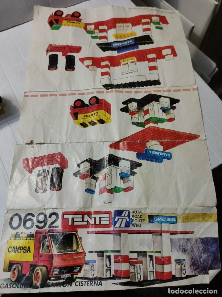 Juegos construcción - Tente: Tente Gasolinera y Camión Cisterna ref.0692 con instrucciones - Foto 5 - 272979993