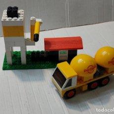 Juegos construcción - Tente: TENTE SILO Y CAMIÓN CEMENTO REF.0693. Lote 272983268