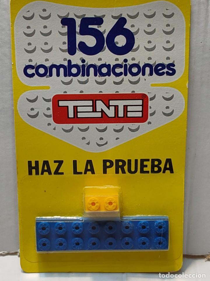 TENTE HAZ LA PRUEBA 156 COMBINACIONES CON 2 PIEZAS EN BLISTER ORIGINAL (Juguetes - Construcción - Tente)