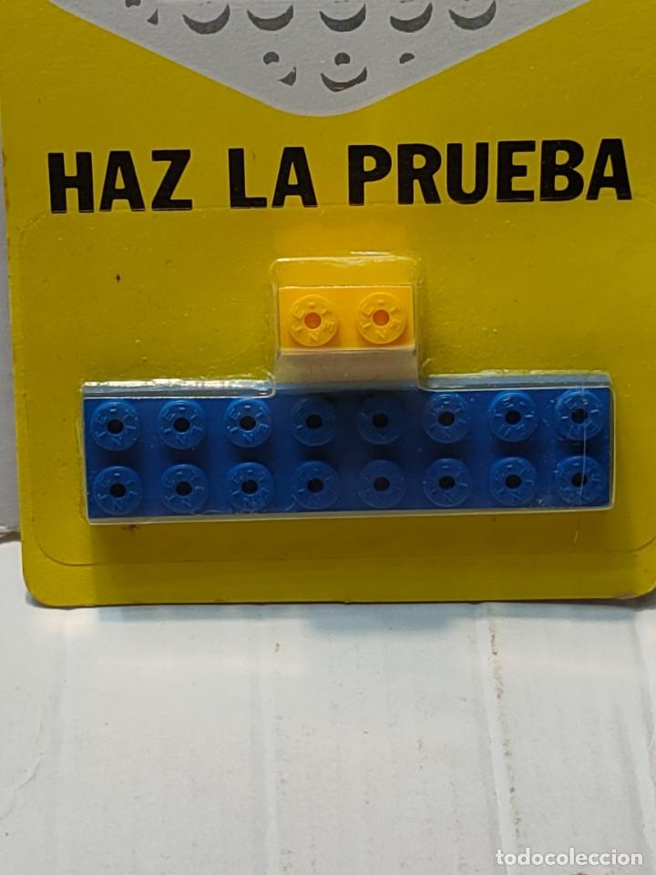 Juegos construcción - Tente: Tente HAZ LA PRUEBA 156 Combinaciones con 2 piezas en blister original - Foto 3 - 274639433