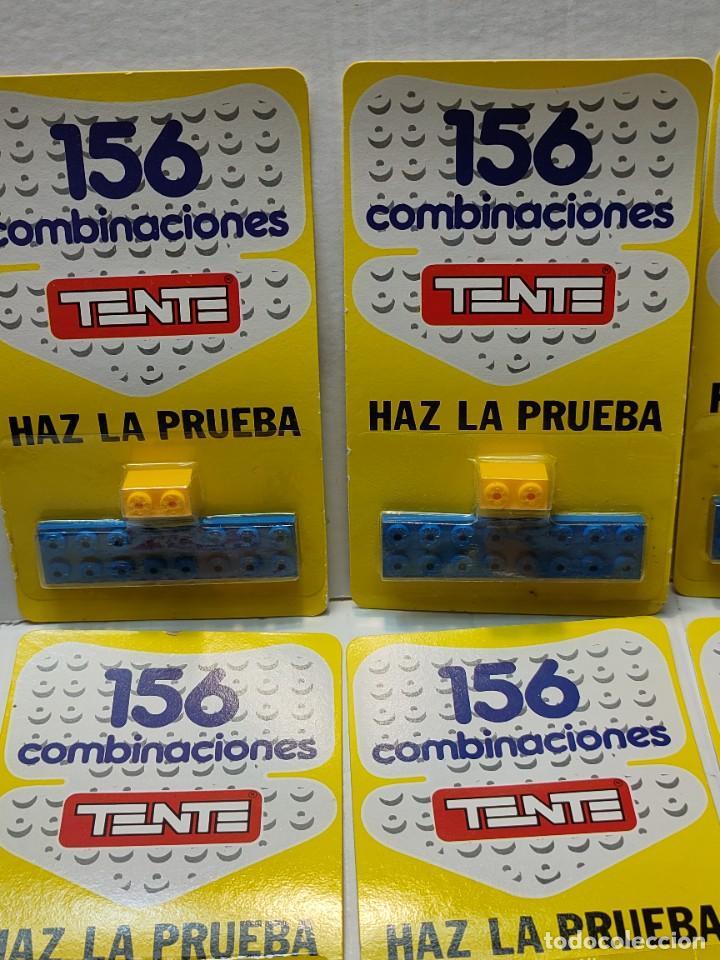 Juegos construcción - Tente: Tente HAZ LA PRUEBA 156 Combinaciones con 2 piezas en blister original lote 10 unidades - Foto 2 - 274639968