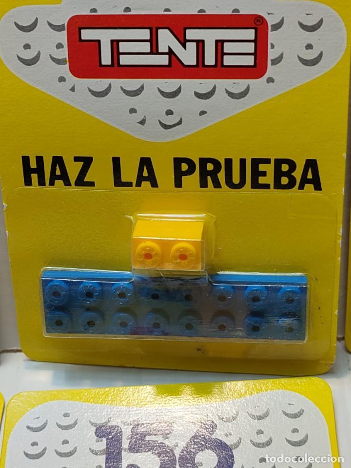 Juegos construcción - Tente: Tente HAZ LA PRUEBA 156 Combinaciones con 2 piezas en blister original lote 10 unidades - Foto 3 - 274639968