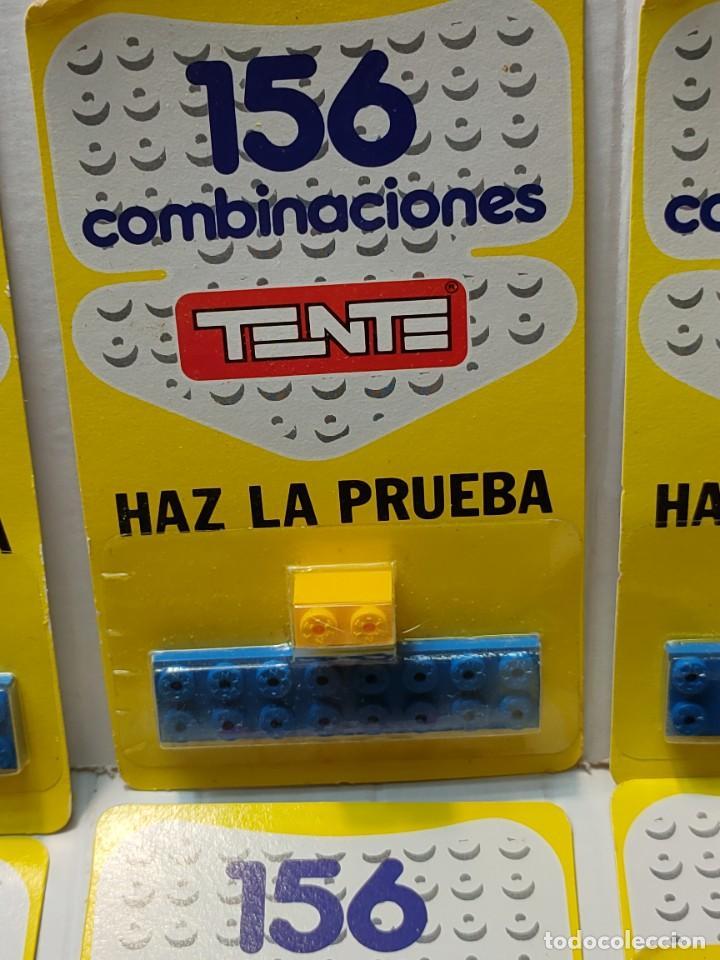 Juegos construcción - Tente: Tente HAZ LA PRUEBA 156 Combinaciones con 2 piezas en blister original lote 30 unidades - Foto 3 - 274640328