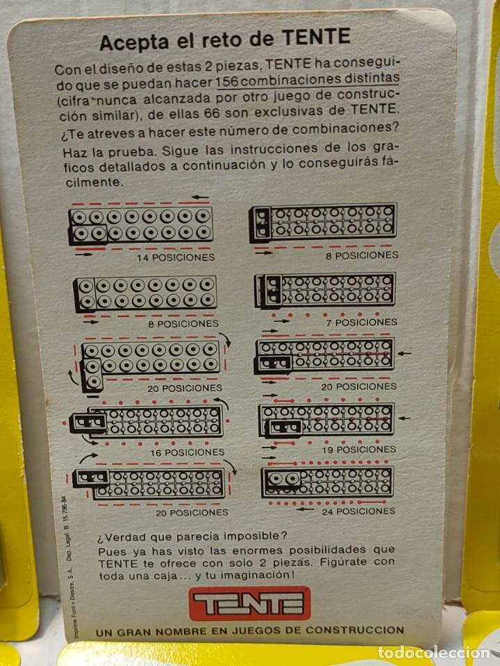 Juegos construcción - Tente: Tente HAZ LA PRUEBA 156 Combinaciones con 2 piezas en blister original lote 30 unidades - Foto 5 - 274640328
