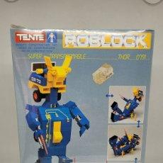 Juegos construcción - Tente: TENTE ROBLOCK THOR. REF 0791. EXIN. PRECINTADO DE FABRICA. SIN USO.. Lote 275245803
