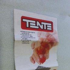 Juegos construcción - Tente: CATALOGO DESPLEGABLE DE TENTE,,EXIN..... Lote 276399173