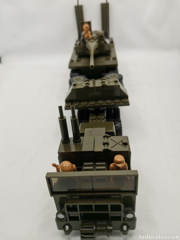 Juegos construcción - Tente: Transporte carro de combate tente ref. 0770 - Foto 2 - 277068853