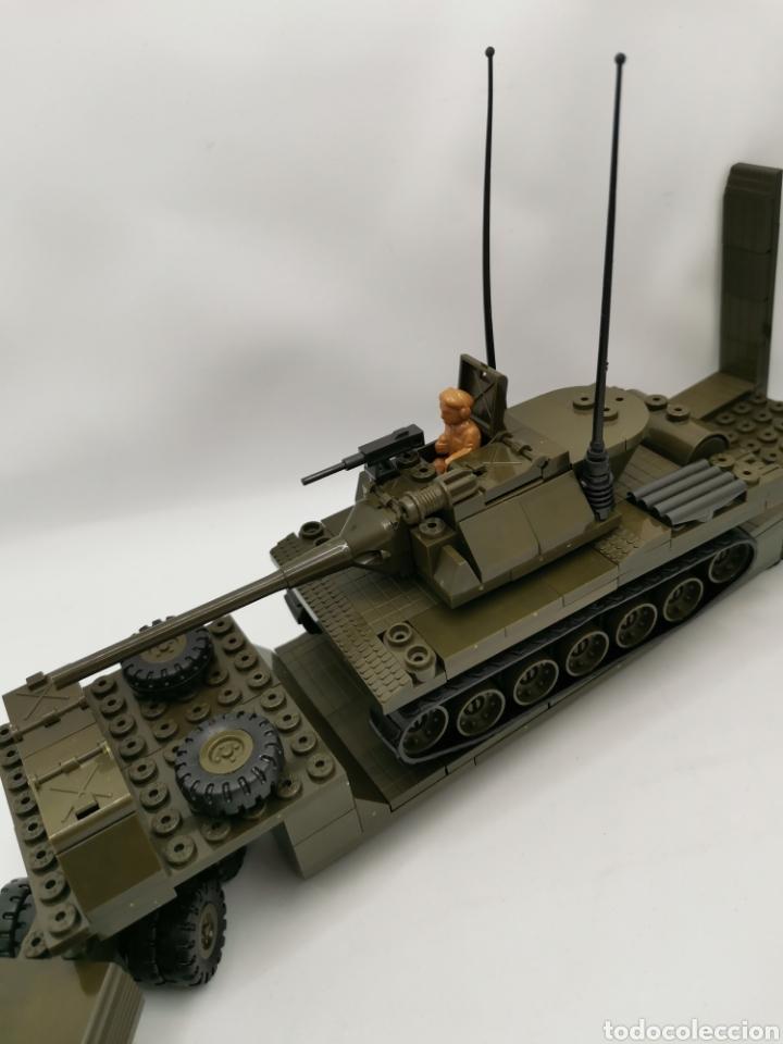 Juegos construcción - Tente: Transporte carro de combate tente ref. 0770 - Foto 5 - 277068853