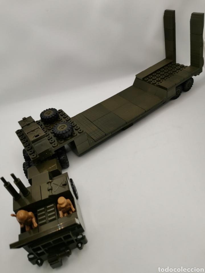 Juegos construcción - Tente: Transporte carro de combate tente ref. 0770 - Foto 6 - 277068853