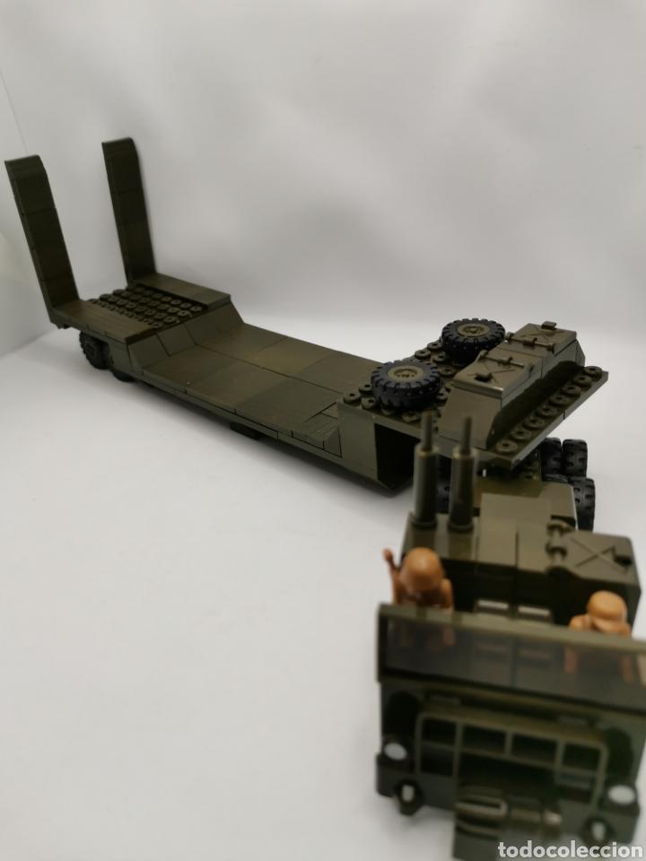 Juegos construcción - Tente: Transporte carro de combate tente ref. 0770 - Foto 7 - 277068853