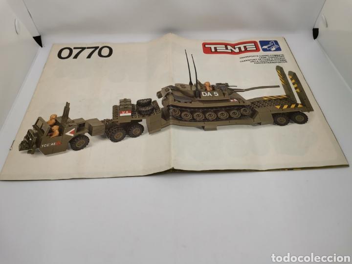 Juegos construcción - Tente: Transporte carro de combate tente ref. 0770 - Foto 12 - 277068853