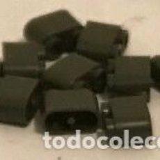 Juegos construcción - Tente: 10 BLOQUES 2X1 REDONDEADAS VERDE ESCORPION. COMPATIBLE 100% CON TENTE. Lote 277587668