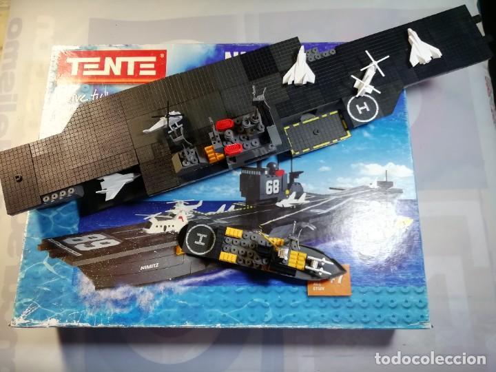 TENTE REF 70111 NIMITZ INCOMPLETO (Juguetes - Construcción - Tente)