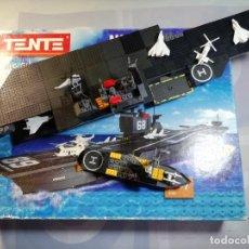 Juegos construcción - Tente: TENTE REF 70111 NIMITZ INCOMPLETO. Lote 278522978