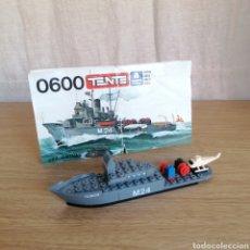 Juegos construcción - Tente: TENTE MAR/OCEANIS REF 600 DRAGAMINAS REF 0600 HURON + INSTRUCCIONES (INCOMPLETO). Lote 275157748