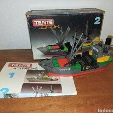 Juegos construcción - Tente: BARCO TRANSPORTE ANFIBIO 0302,. Lote 287560248
