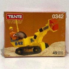 Juegos construcción - Tente: TENTE COMPACT REF 0342 KRANG. NUEVO. VINTAGE. AÑO 1.988. A ESTRENAR CON PRECINTO.. Lote 287728738