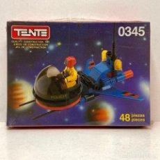 Juegos construcción - Tente: TENTE COMPACT REF 0345 SPACE PATROL. NUEVO. VINTAGE. AÑO 1.988. A ESTRENAR CON PRECINTO.. Lote 287729508