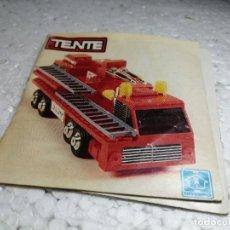 Giochi costruzione - Tente: CATALOGO - TENTE (VERSIÓN USA). Lote 288317163