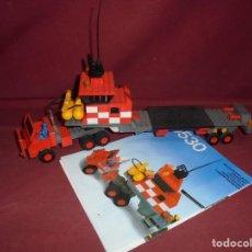 Juegos construcción - Tente: MAGNIFICO TENTE ANTIGUO CAMION TRANSPORTER HELICOPTERO REF 0530. Lote 294509388