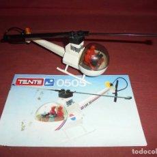 Juegos construcción - Tente: MAGNIFICO TENTE ANTIGUO HELICOPTERO REPORTAJES REF 0505. Lote 294511243
