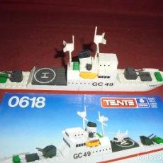 Juegos construcción - Tente: MAGNIFICO TENTE ANTIGUO GUARDACOSTAS REF 0618. Lote 294991323
