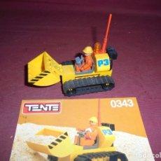 Juegos construcción - Tente: MAGNIFICO TENTE ANTIGUO EXCAVATOR REF 0343. Lote 294993903