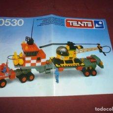 Juegos construcción - Tente: MAGNIFICO 52 CATALOGOS DE TENTE MAS PEGATINAS. Lote 295376798