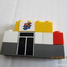 Juegos construcción - Tente: TENTE LOTE DE PIEZAS ZAJANA CON PUERTA DE TALLER. Lote 295618708