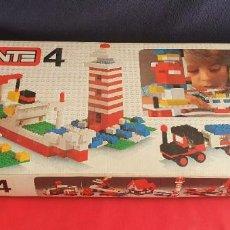 Juegos construcción - Tente: CAJA CON CONSTUCCIONES TINTE 4. VER FOTOS. Lote 296615383