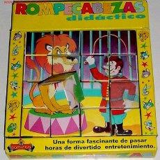 Juegos educativos: ANTIGUO ROMPECABEZAS DIDACTICO ESCENA DE CIRCO. Lote 26406834
