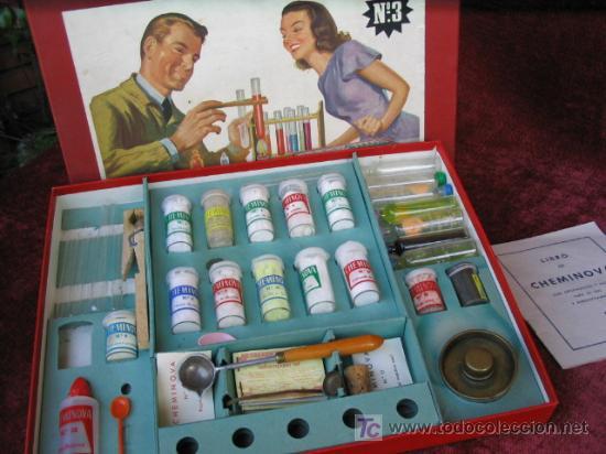 Juegos educativos: Juego de quimica Cheminova numero 3 - Foto 2 - 31219566