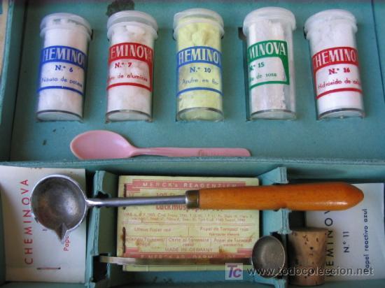 Juegos educativos: Juego de quimica Cheminova numero 3 - Foto 3 - 31219566