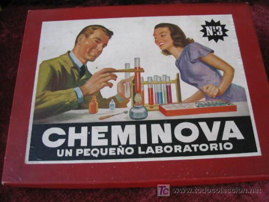 JUEGO DE QUIMICA CHEMINOVA NUMERO 3 (Juguetes - Juegos - Educativos)