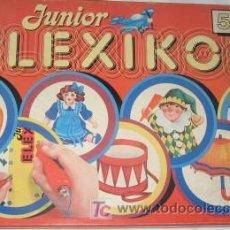 Juegos educativos: ELEXICON JUNIOR DE EDUCA. Lote 23217999