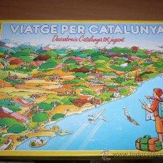 Juegos educativos: JUEGO VIAJE POR CATALUÑA DE EDUCA EN CATALÁN. Lote 26757453