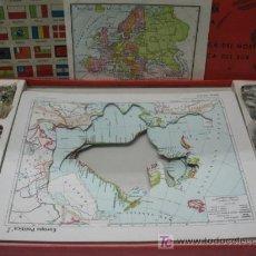 Juegos educativos: MAPAS PUZZLES -- CARTOGRAFICOS INSTRUCTIVOS. Lote 19592155