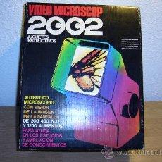 Juegos educativos: VIDEO MICROSCOPIO 2002 (JUGUETES INSTRUCTIVOS) AÑOS 80.-. Lote 48887735