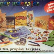 Juegos educativos: SUPER MENSAJES. Lote 22114992