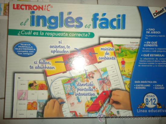 Juego De Mesa Educativo Aprender Ingles 8 12 Comprar Juegos