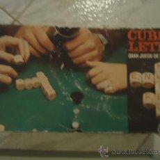 Juegos educativos: JUEGO DE MESA CUBI-LETRA, DE CEFA. Lote 26449690