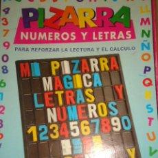 Juegos educativos: PIZARRA DE NUMEROS Y LETRAS, PRESCHOOL. Lote 128953680