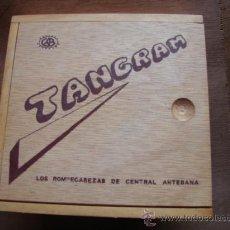 Juegos educativos: ROMPECABEZAS TANGRAM DE MADERA. Lote 26001652