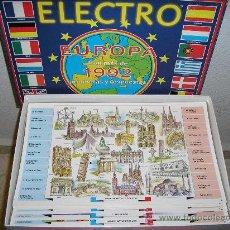 Juegos educativos: ELECTRO EUROPA 1992 - ANTIGUO. Lote 27207048