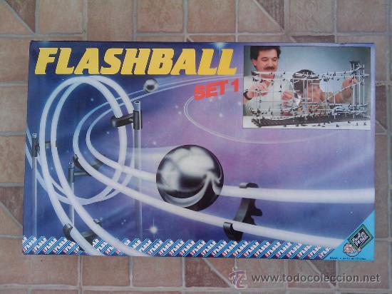 JUEGO FLASHBALL LOGICA AÑOS 80 - ESCOLAR FEBER ANTIGUO (Juguetes - Juegos - Educativos)