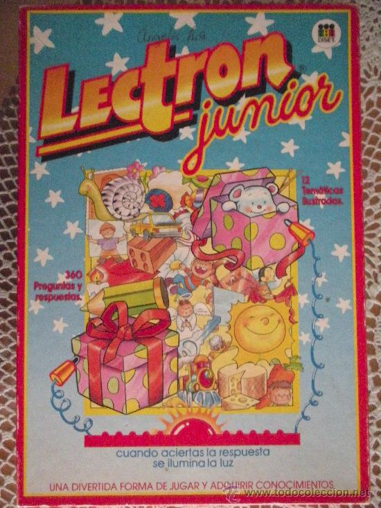 LECTRON JUNIOR, DOCE JUEGOS (Juguetes - Juegos - Educativos)