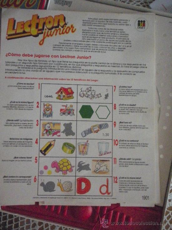 Juegos educativos: lectron junior, doce juegos - Foto 4 - 27198941