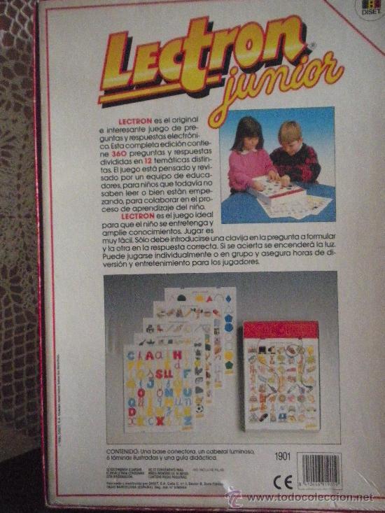 Juegos educativos: lectron junior, doce juegos - Foto 3 - 27198941