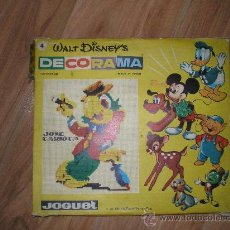 Juegos educativos: DECORAMA DE WALT DISNEY. Lote 29135226