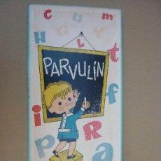 Juegos educativos: PARVULIN - JUEGO PEDAGOGICO RECREATIVO - J. ARNALOT EDITOR - SIN USAR.. Lote 29221297